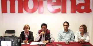 rueda de prensa Morena Roberto Pantoja