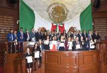 Parlamentarios juveniles Congreso
