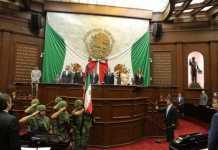 Silvano Aureoles apertura legislatura 4