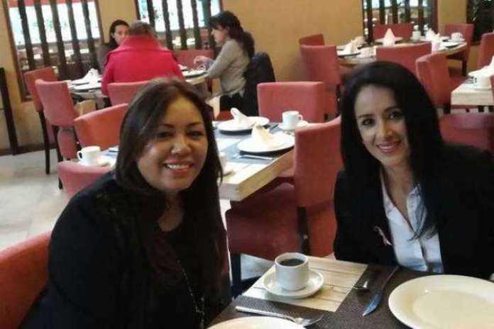 Lucila Martinez Manriquez y Nuria Gabriela Hernandez Abarca