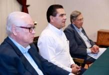 Genoveno Figueroa Zamudio, Silvano Aureoles y Cuauhtemoc Cardenas Solórzano