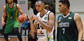 Javi Gonzalez, Gabriel Vazquez y Alex Reyna Aguacateros
