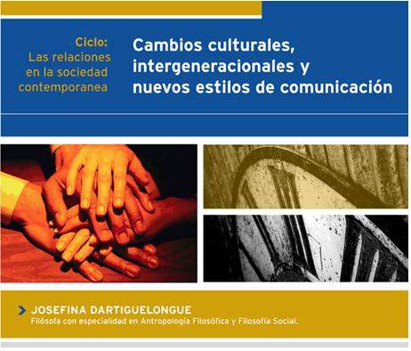 La filósofa Josefina Dartiguelongue ofreció una conferencia en Comodoro Rivadavia