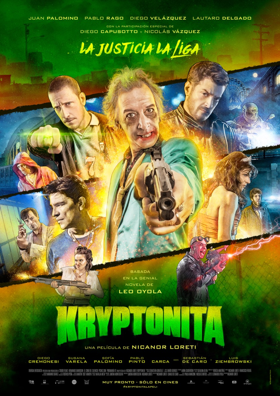 833a01 - Poster Kryptonita Baja