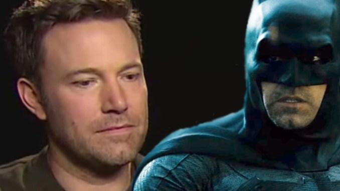 Ben Affleck estaría pensando dejar Batman