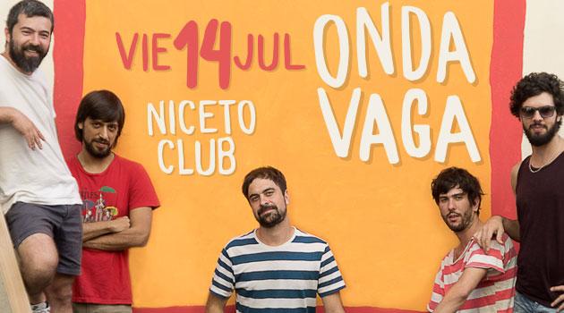 Onda Vaga en Niceto Club