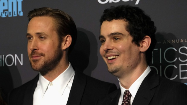 Ryan Gosling Damien Chazelle by Frazier Harrison Getty Header