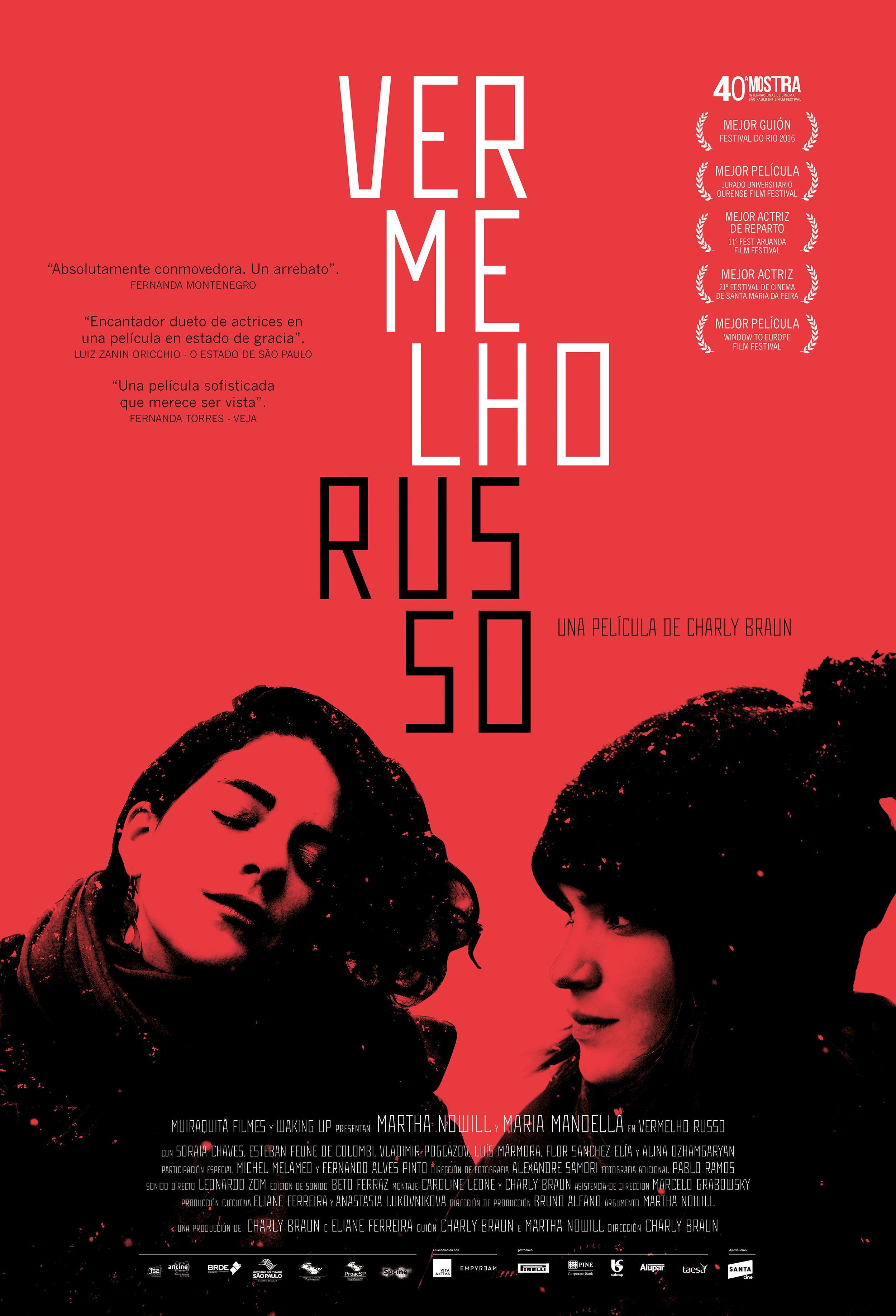 Afiche Vermelho Russo