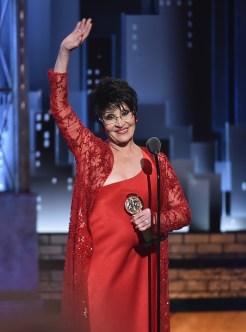 NEW YORK, NY - JUNE 10: Chita Rivera accepts the Special Tony Awards for Lifetime Achievement in the Theatre onstage during the 72nd Annual Tony Awards at Radio City Music Hall on June 10, 2018 in New York City. (Photo by Theo Wargo/Getty Images for Tony Awards Productions)