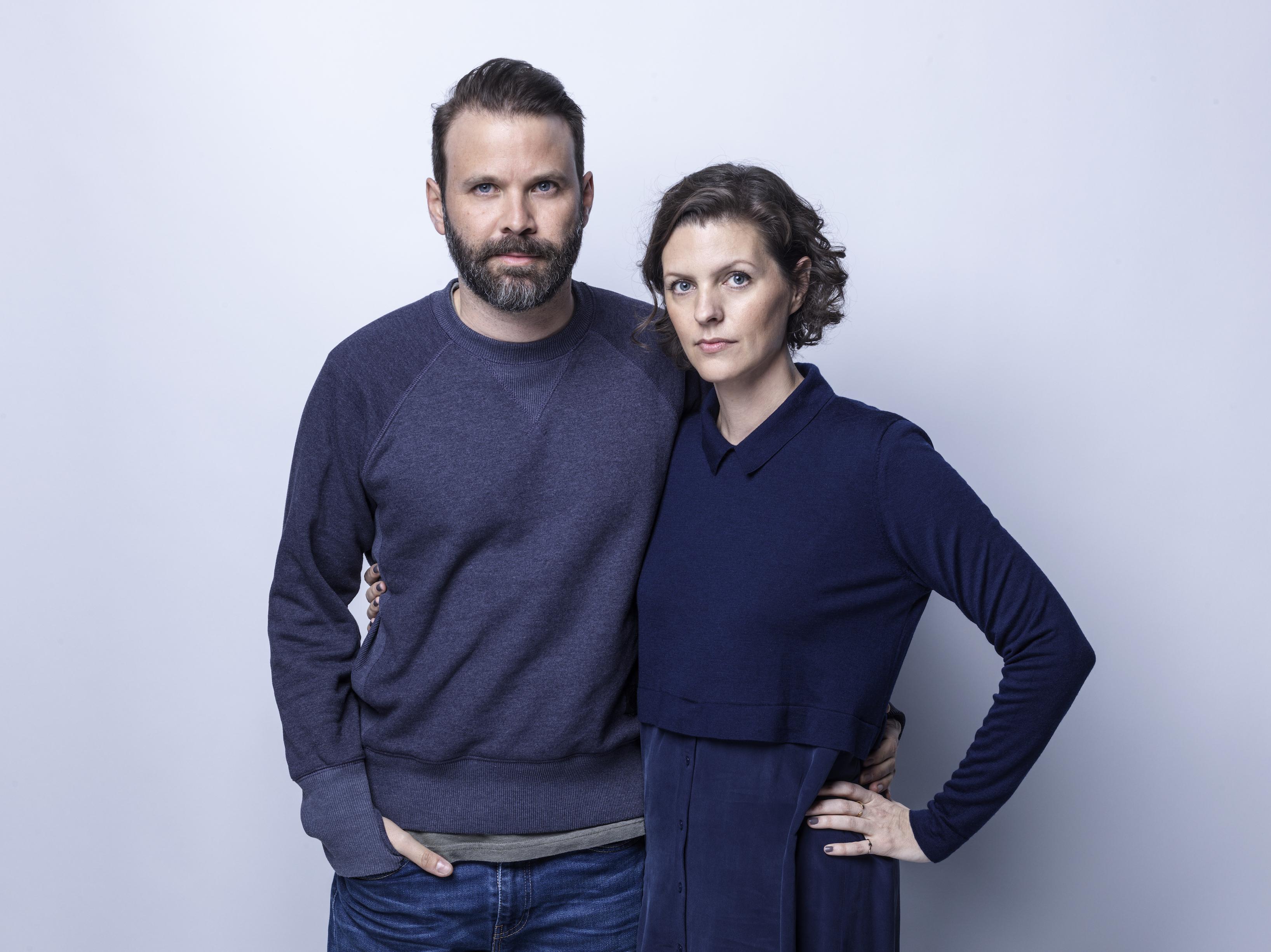 (L-R) Director, Baran bo Odar & Writer, Jantje Friese