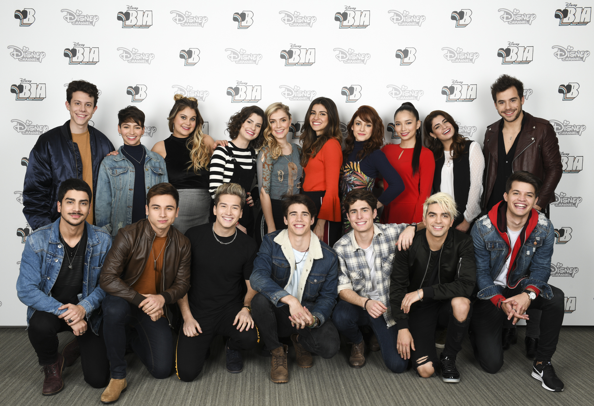 Disney Bia - Elenco