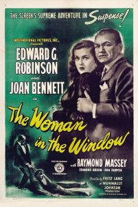 The Woman in the Window 1944 Poster