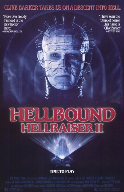 HELLBOUND HELLRAISER II - POSTER
