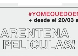 CUARENTENA DE PELÍCULAS!