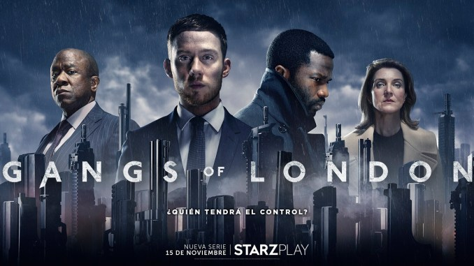Gangs of London: Estará disponible en Starzplay el próximo mes de noviembre