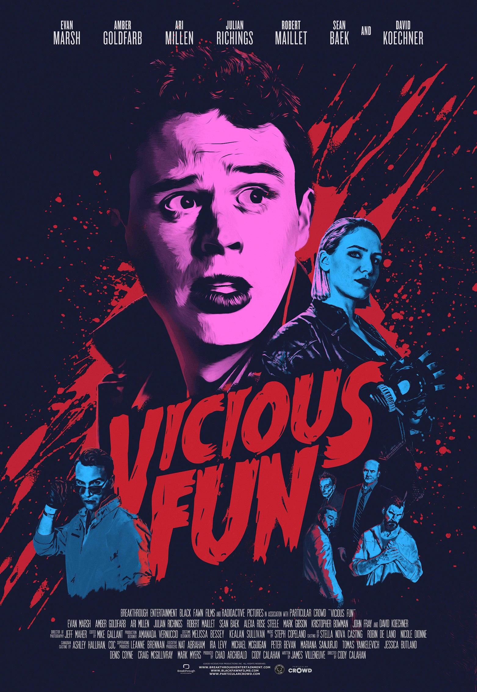 Vicious Fun: primer tráiler del film dirigido por Cody Calahan