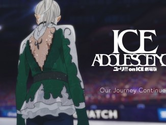 "Ice Adolescence: Teaser del esperado film de ""Yuri!!! On Ice"""