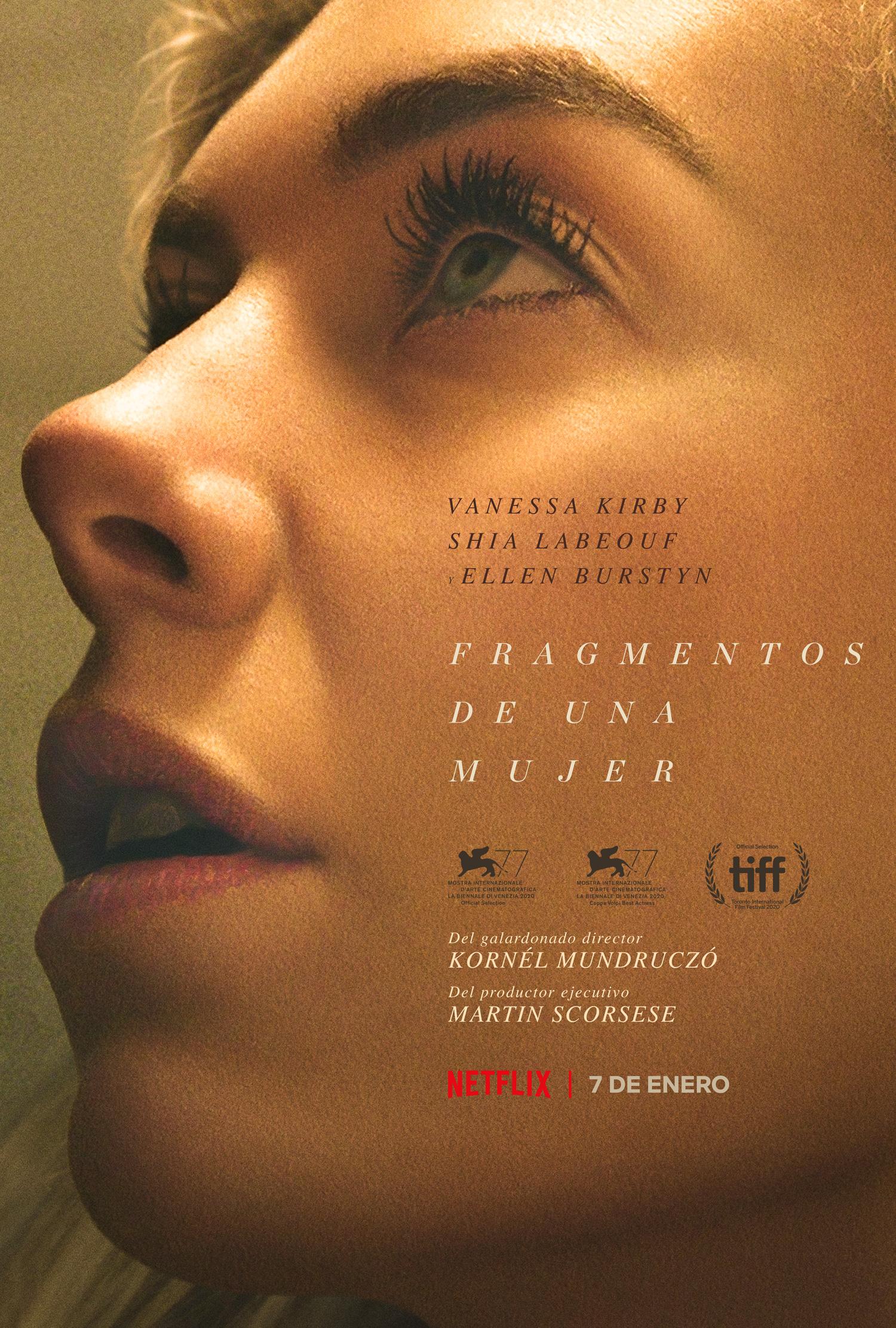 Fragmentos de una mujer: Avance del film protagonizado por Vanessa Kirby y Ellen Burstyn
