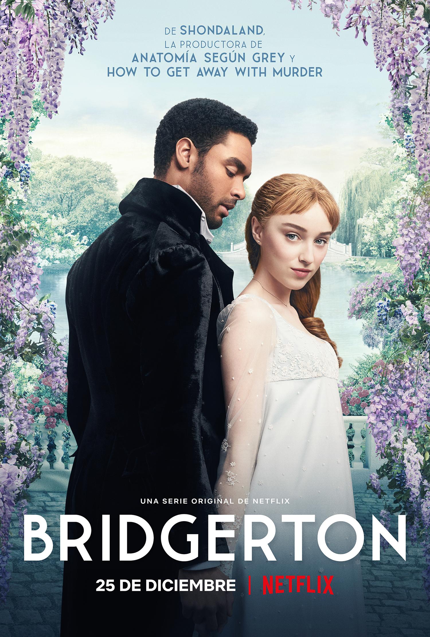 Bridgerton: Avance extendido y nuevas imágenes del drama de época producido por Shonda Rhimes