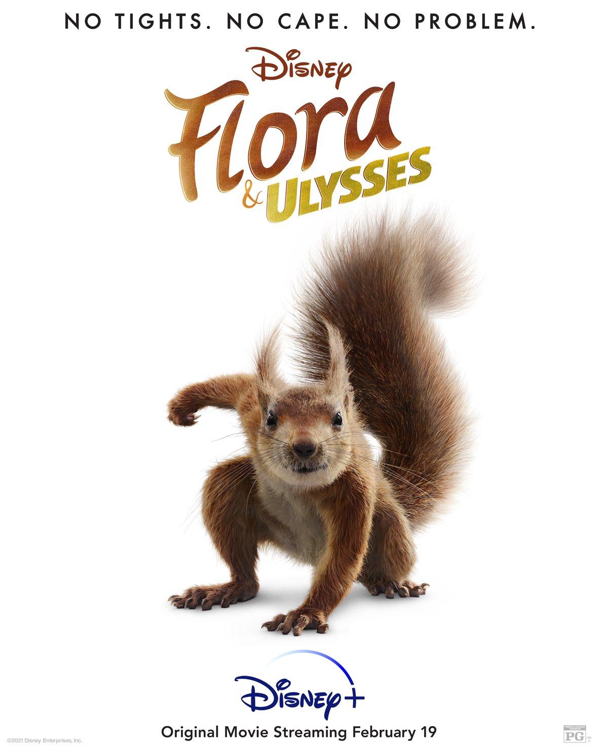 Flora & Ulysses - Poster