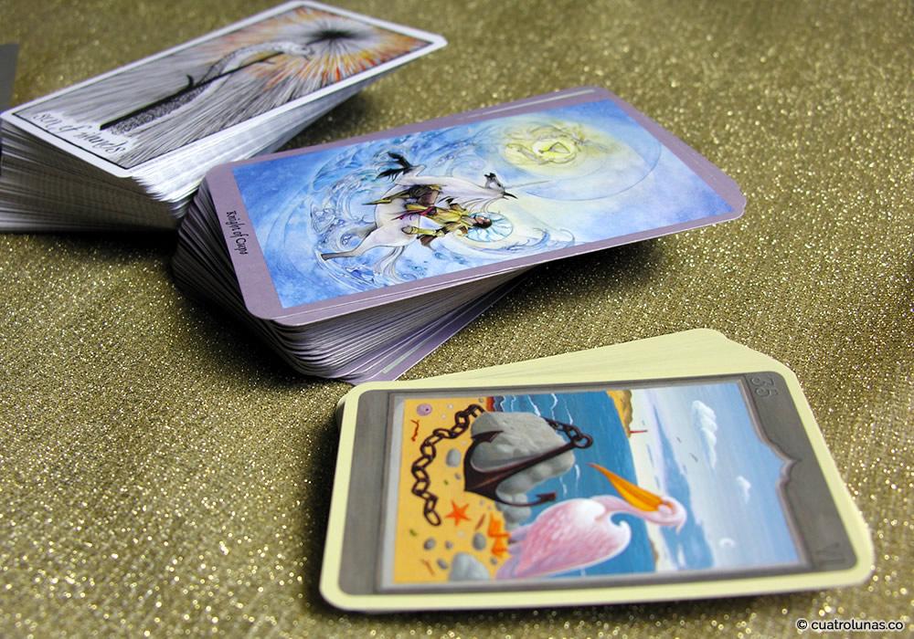 Diferencias entre el Tarot y las cartas oraculares