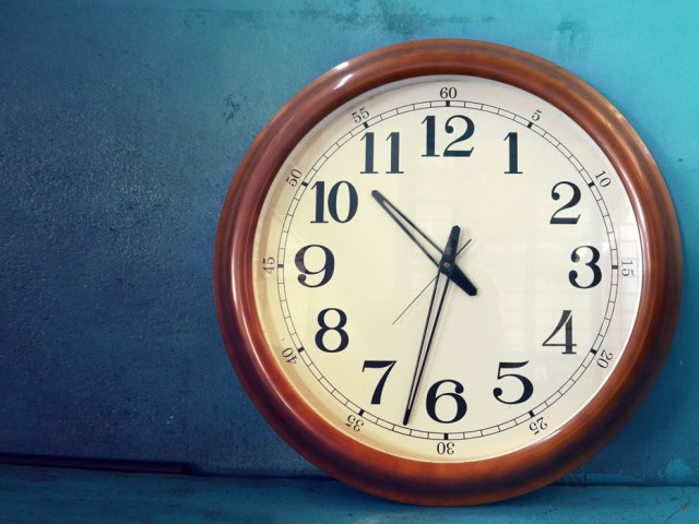 Dándole tiempo al tiempo