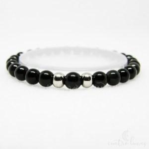 pulsera japa obsidiana