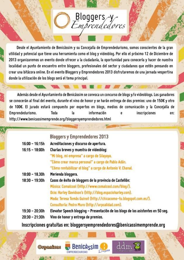 Encuentro de Bloggers en Benicassim