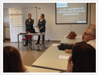 Conferencia sobre la LOPD para comunicadores