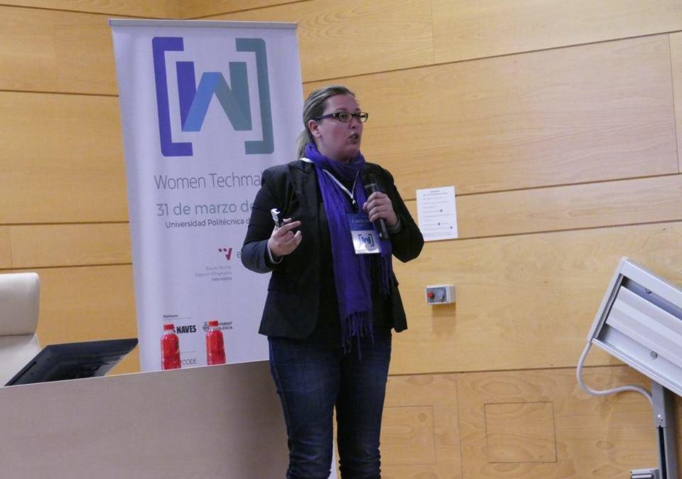 Participando en Women Techmakers Valencia