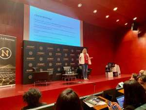 Neurona Summit en Bilbao. Nuestra Ceo participa hablando de whatsapp marketing