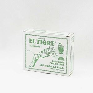 Bicarbonato sódico el tigre en caja