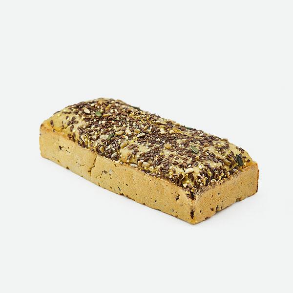 Pan multicereales sin gluten de masa madre