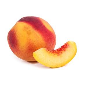 zumo de melocotón y manzana ecológico 100% fruta ecológica exprimida