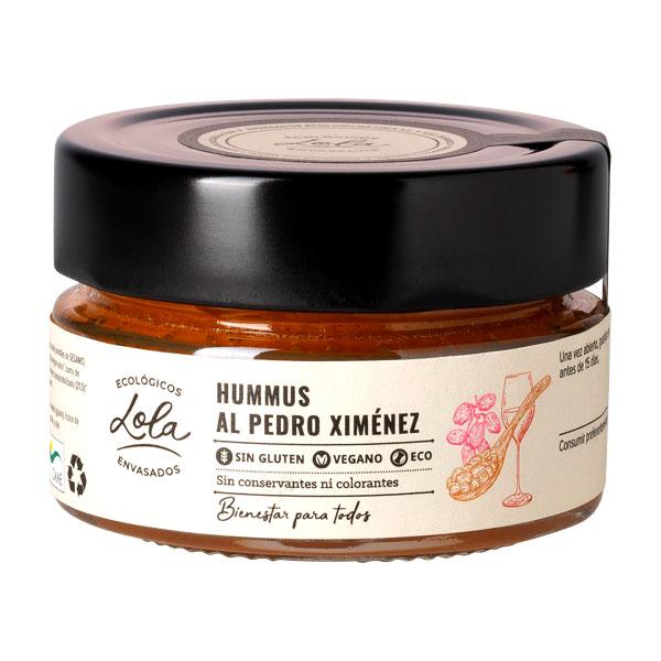 Hummus al Pedro Ximénez ecológico