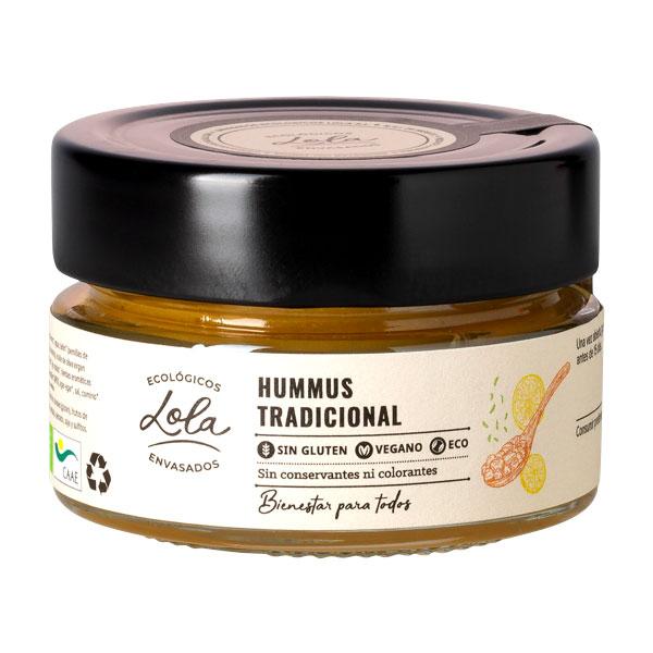Hummus tradicional sin gluten