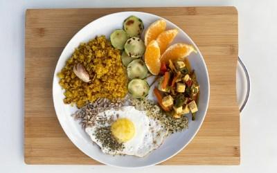 Receta de Invierno: Migas Vegetarianas o Veganas Sin Gluten
