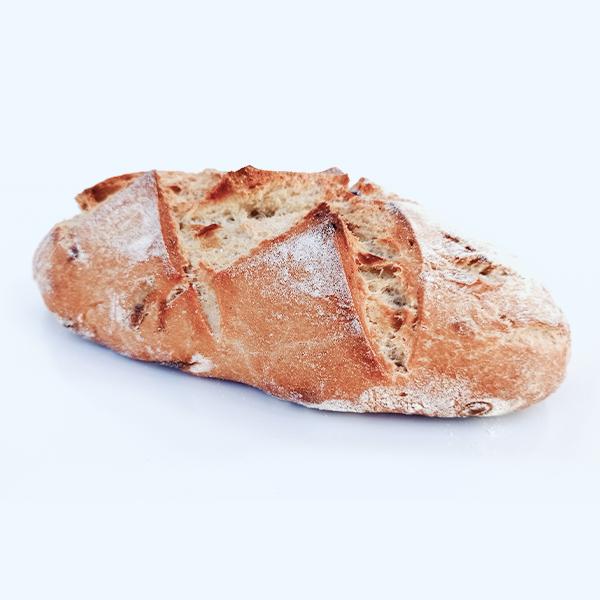 Pan de miel y cebolla ecológico