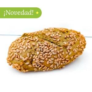 Pan con moringa y semillas de girasol