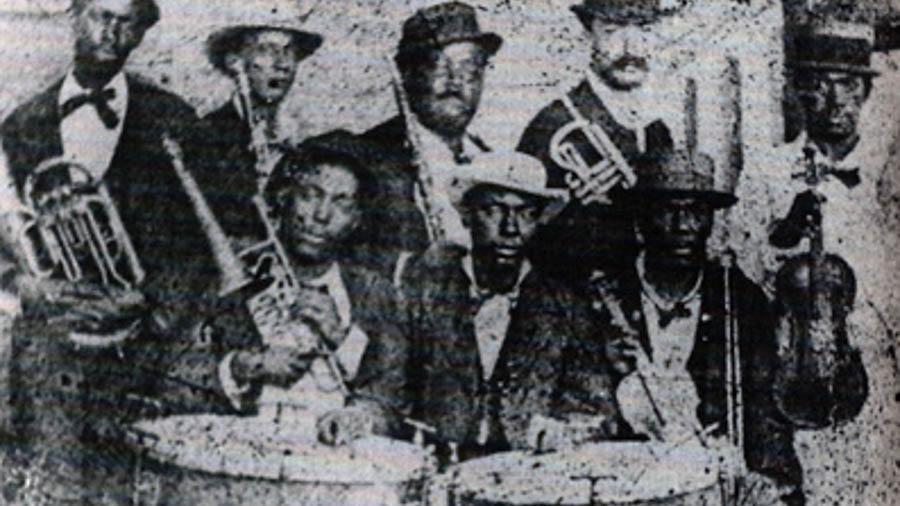 """Orquesta """"Flor de Cuba"""" von Juan de Dios Alfonso (1825 – 1877)"""
