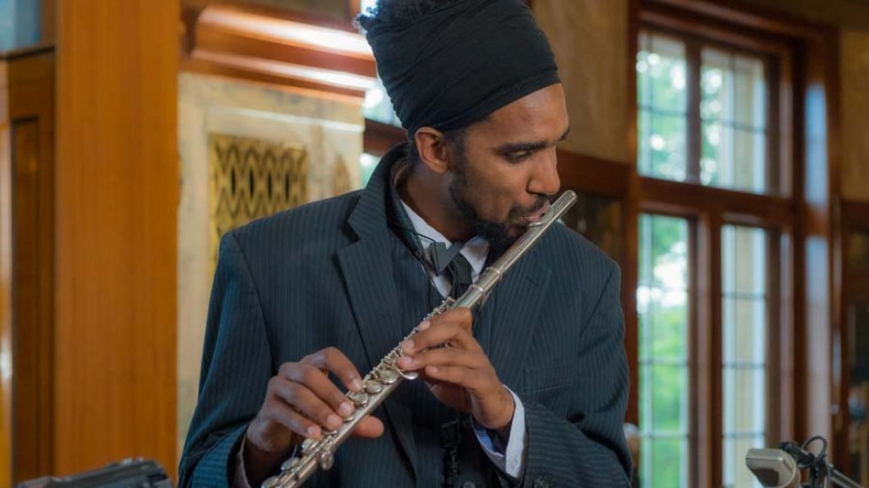 "Regis Molina - Saxofon bei ""The Cuban Orquesta"""