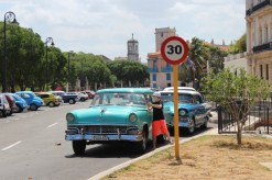 Classic cars in Old Havana.