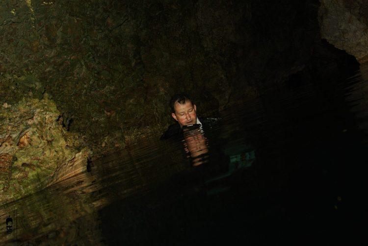 Buceo en el Cenote El Brinco