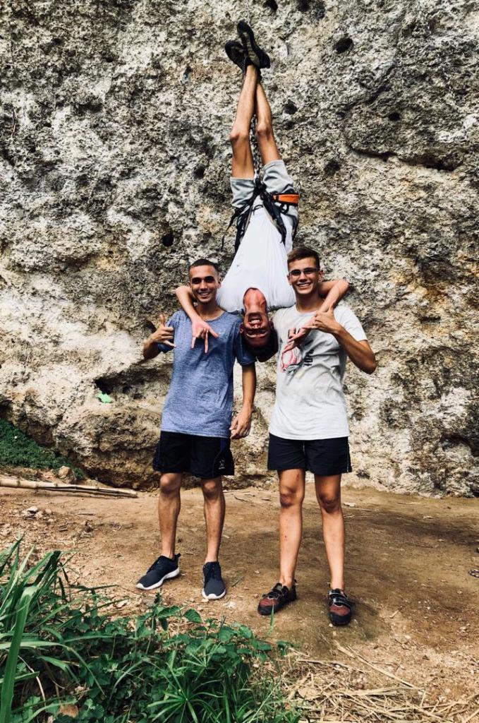 Climbing in Cuba