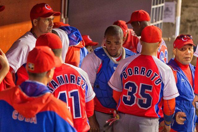 Team Cuba Inside the Dugout