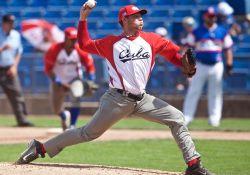 Yariel Rodriguez Pitcher Team Cuba