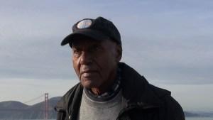 Roberto with Golden Gate Bridge, San Franciaco.