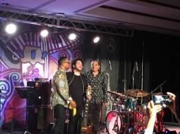 Gonzalo El Gola y El Negro en el PapJaz Fest de Haiti