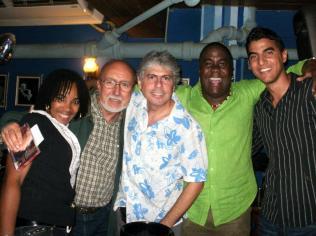 Toni B en la Zorra y el C c Prada y Canela Cuban Jazz Night