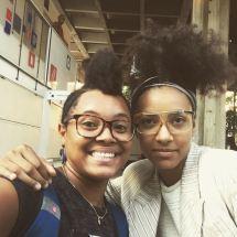 Yissy Garcia y Esperanza Spalding 1
